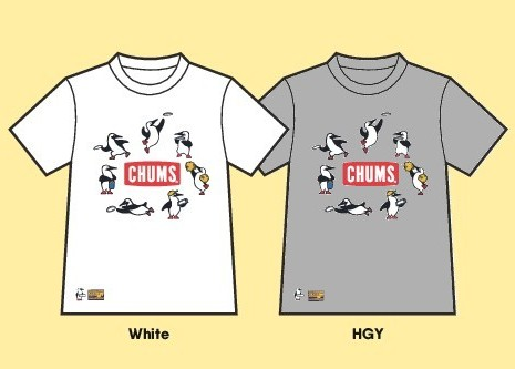 Club Jr.×CHUMS Tシャツ